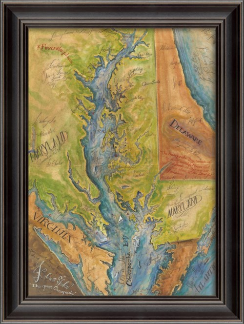 LH The Great Chesapeake Map