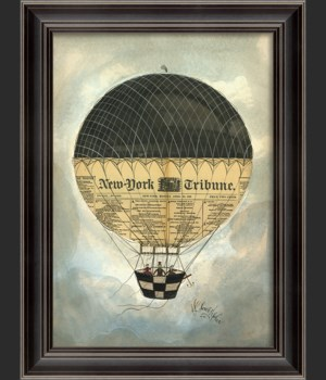 LH New York Tribune Hot Air Balloon