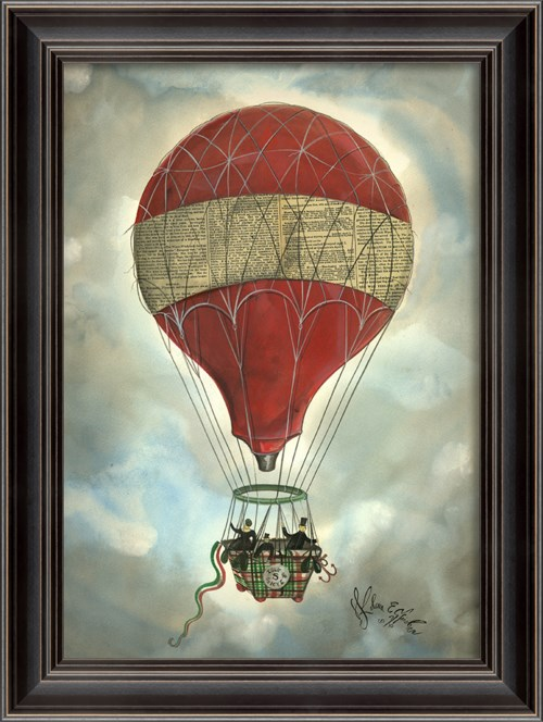 LS Red Hot Air Balloon