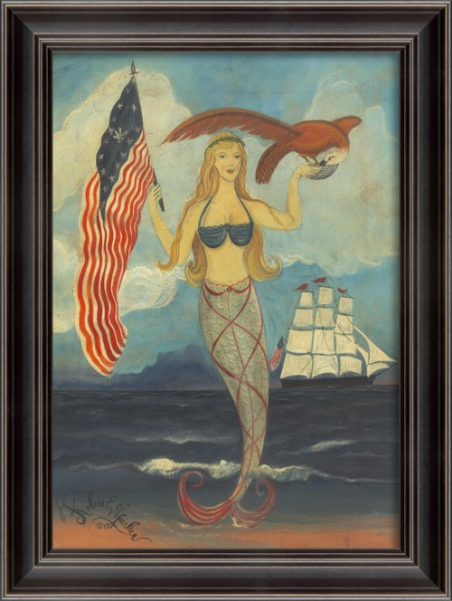 LH Lady Liberty Mermaid