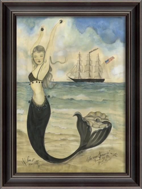 LH Black Pearl Oyster Lounge Mermaid