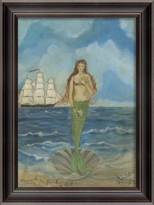 LS Mermaid on the Half Shell