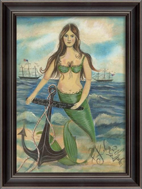 LS Found in the Heart of Nantucket Bay Mermaid