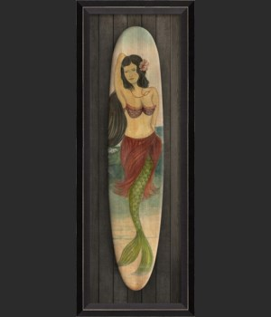 BC Star of the Beach Mermaid Surfboard sm