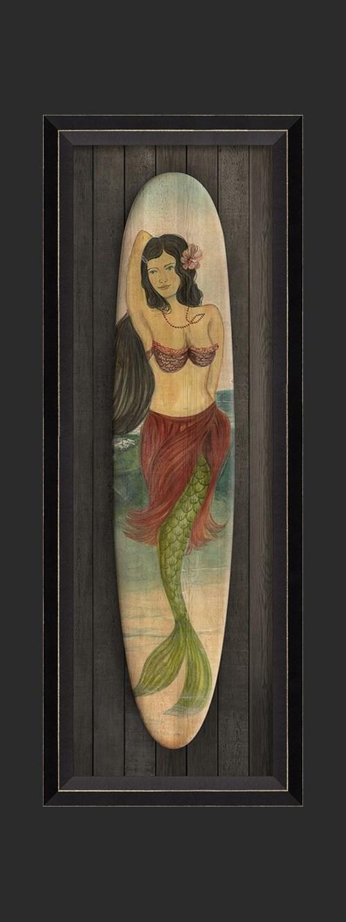 BC Star of the Beach Mermaid Surfboard sm