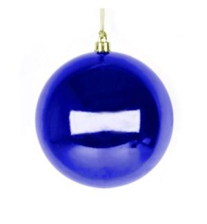 Shiny Cobalt Ball Ornament (20CM)