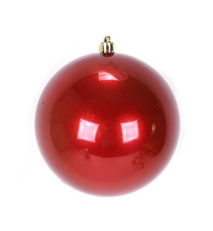 Pearl Red Ball Shatterproof Ornament (15CM)