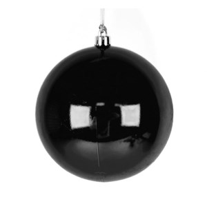 Shiny Black Ball Ornament (25CM)