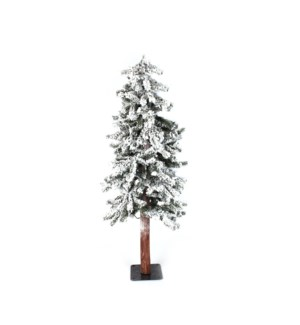 4' Alpine Soft Flocked Christmas Tree