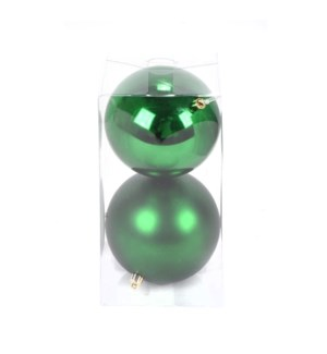 Set of Holiday-Green Ball Ornaments (12CM)