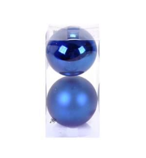 Set of Cobalt Ball Ornaments (12CM)