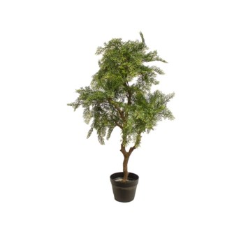 """37"""" Potted Pine Tree"""