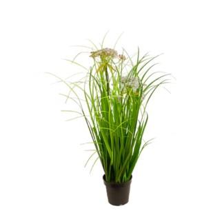"34.5"" Grass w/ Cloud Flowers"