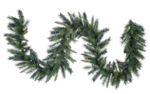 9' Royal Mix Pine Garland with Lights