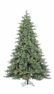 9' Artificial Grandview Pine Tree with Cones