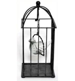 Hanging Glass Bird