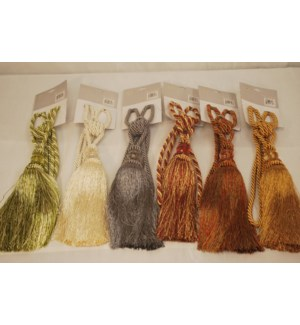TASSELS 6 COLOR ASSORTED 72/BOX
