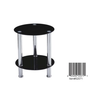 "SIDE TABLE 15"" DIAMETER X 18"" H1/BOX"
