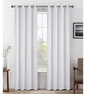 MALIKA BLACK OUT CURTAIN 12/BOX