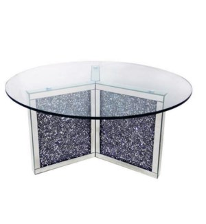 "COFFEE TABLE (39.40""LX39.40""WX18.68""H) - 1 SET / 2 BOXES"