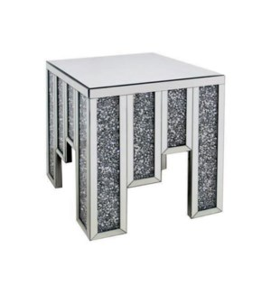 "END TABLE (19.98""LX19.98""WX23.76""H)-1/BOX"