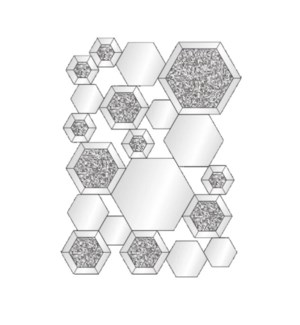 "WALL MIRROR (35""X51""X5.52"") - 1/BOX"