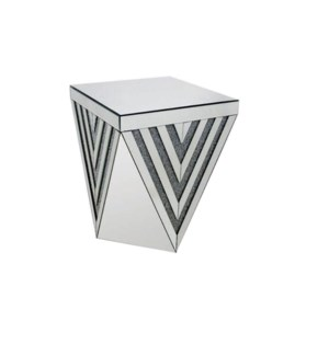 "END TABLE (18.64""LX18.63""WX23.25""H) -1/BOX"