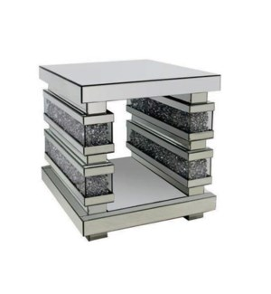 """END TABLE (19.90""""LX19.90""""WX23.96""""H) -1/BOX"""