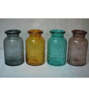 GLASS VASE 4/BOX