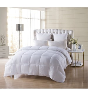 "FULL -1PC DOUBLE FILL -DOWN  ALTERNATIVE COMFORTER 78""X90"" - 4/BOX"