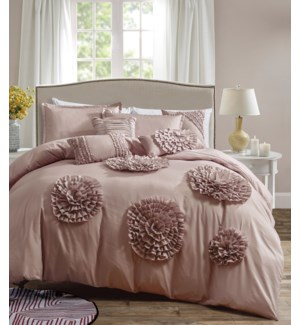 MIAMI - KING -  6PC COMFORTER SET -  3/BOX