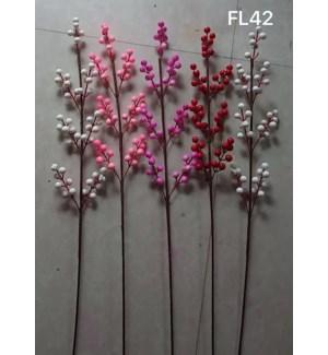 "35.5"" ARTIFICIAL FLOWERS - (3PC/BAG) - (60 BAGS/BOX)"