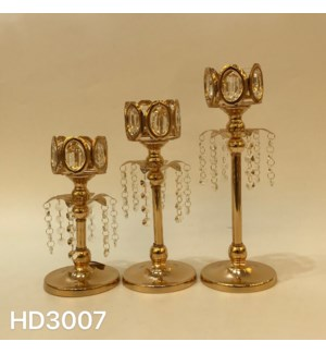 """CANDLE HOLDERS 4.93,,11.82*4.93,,13.79*4.93""""/ (6 SETS/BOX)"""