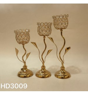 """CANDLE HOLDERS 4.33*11.82,,4.33*14.18,4.33*16.15""""/  (6 SETS/BOX)"""