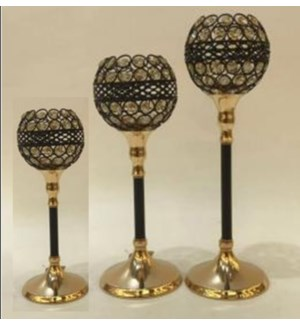 """CANDLE HOLDERS 11.82*5.12,13.4*5.12,15.37*5.12""""/(6 SETS/BOX)"""