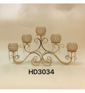"""CANDLE HOLDER 16.15*27.58""""/ (4 PC /BOX)"""
