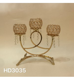 """CANDLE HOLDER 13.99*13.99""""/ (6 PC /BOX)"""