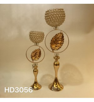 """CANDLE HOLDERS 7.88*24.82,,9.85*33.69"""" (4 SETS/BOX)"""