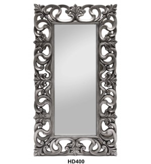 "CARVED FRAME MIRROR 36""X66.5"" --1/BOX"