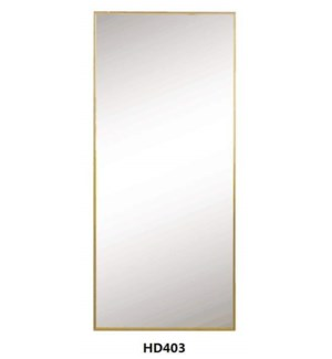 "GOLD FRAME MIRROR 30""X70"" --1/BOX"