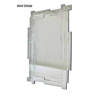 "MODERN GLASS MIRROR 24""X35""X 1"" -  2/BX"