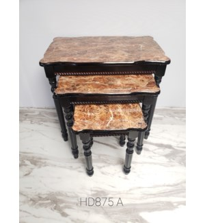 3PC - NESTING TABLES SET SIZE:22 *14*19.68/ 16*12*13/ 11*11*14  inch - 1SET /BOX
