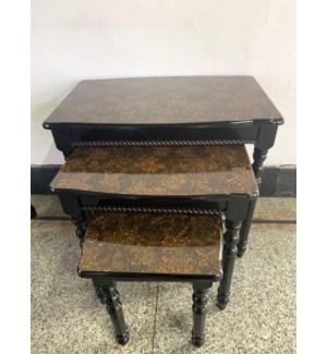 3PC - NESTING TABLES SET SIZE:22*14*19/16*12*12/11*11*14 inch- 1SET /BOX