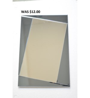 "MODERN GLASS MIRROR16""x24""  - 4/BX"