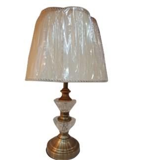 "TABLE  LAMP 13.8""X13.8""X22.8"" -4/CTN"
