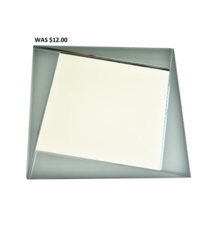"MODERN GLASS MIRROR20""x20""  - 4/BX"
