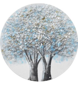 """PAINTED WALL ART 24"""" ROUND -- 10/BX"""
