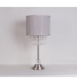 "19""H - TABLE LAMP (S: 9""X9""X7"") -  4/ BOX"