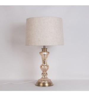 "20.7""H - TABLE LAMP (S: 11""X12""X8.25"")  -  4/ BOX"