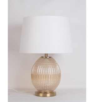 "19.7""H - TABLE LAMP (S: 12""X14""X8.75"")  -  4/ BOX"
